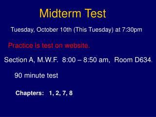 Midterm Test