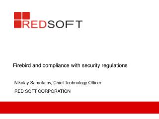 Firebird and compliance with security regulations