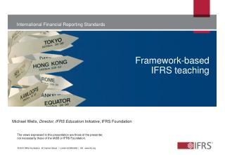 Framework-based  IFRS teaching