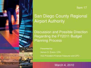 San Diego County Regional Airport Authority
