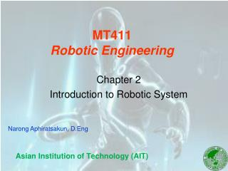 MT411 Robotic Engineering