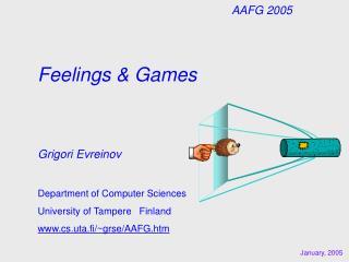 Feelings & Games