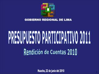 GOBIERNO REGIONAL DE LIMA