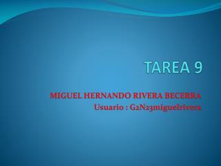 TAREA 9