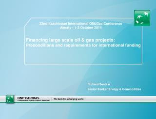 Financing large scale oil & gas projects: Preconditions and requirements for international funding
