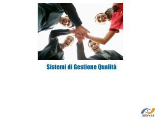 Sistemi di Gestione Qualità