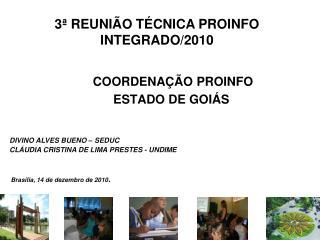 COORDENAÇÃO PROINFO ESTADO DE GOIÁS