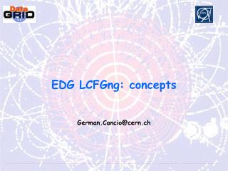 EDG LCFGng: concepts