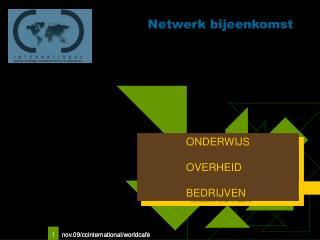 Netwerk bijeenkomst