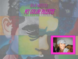 Jean Wheeler My color palette