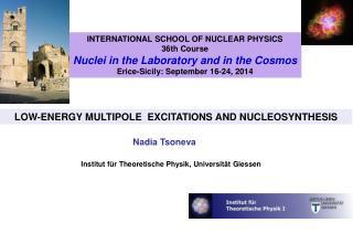 Institut für Theoretische Physik, Universität Giessen