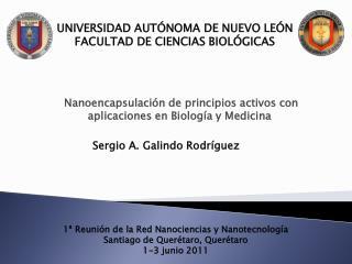 UNIVERSIDAD AUTÓNOMA DE NUEVO LEÓN FACULTAD DE CIENCIAS BIOLÓGICAS