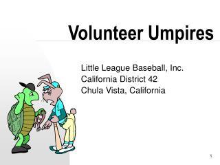 Volunteer Umpires