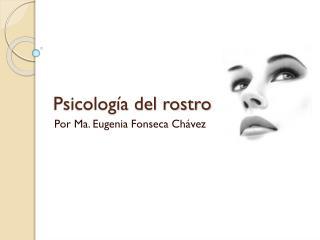 Psicología del rostro
