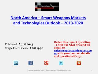 2020 Forecasts to North America Smart Weapons Market