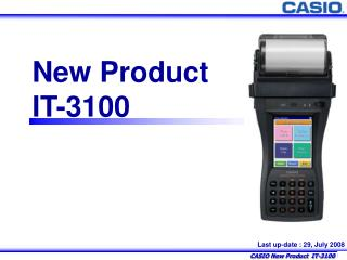 New Product IT-3100