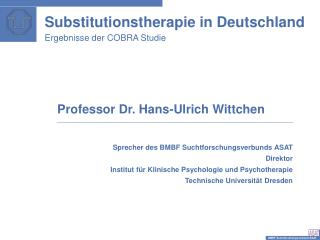 Substitutionstherapie in Deutschland