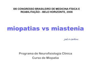miopatias vs miastenia