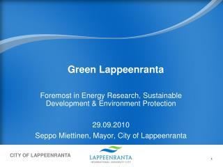 Green Lappeenranta