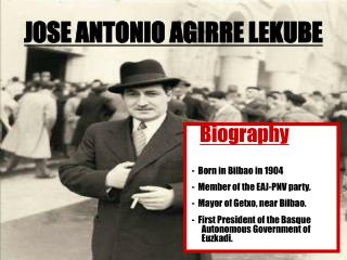 JOSE ANTONIO AGIRRE LEKUBE