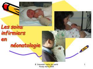 Les soins  infirmiers  en néonatologie