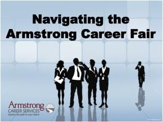 Navigating the Armstrong Career Fair