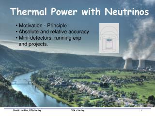 Thermal Power with Neutrinos