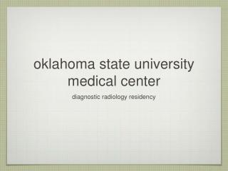 oklahoma state university medical center