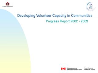 Developing Volunteer Capacity in Communities