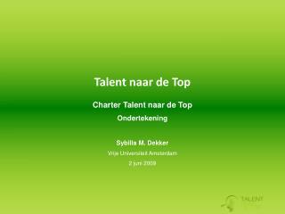 Talent naar de Top