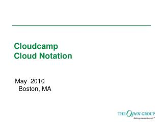 Cloudcamp Cloud Notation