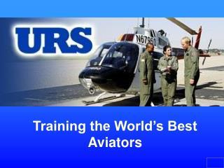 Training the World's Best Aviators
