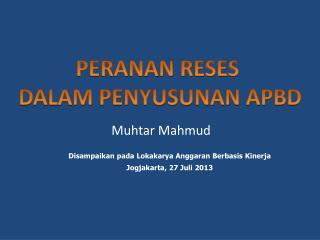 Muhtar  Mahmud