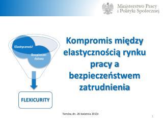 Kompromis między elastycznością rynku pracy a bezpieczeństwem zatrudnienia