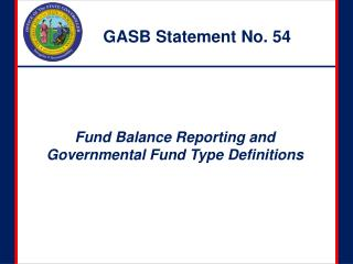 GASB Statement No. 54