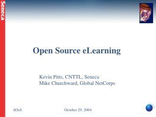 Open Source eLearning