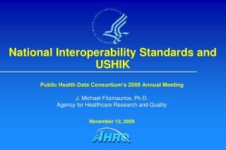 National Interoperability Standards and USHIK