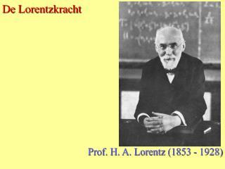 De Lorentzkracht