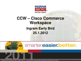 CCW – Cisco Commerce Workspace