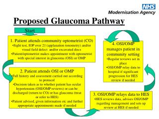 Proposed Glaucoma Pathway