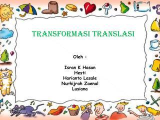 Transformasi Translasi