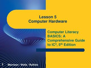 Lesson 5 Computer Hardware