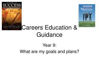 Careers Education & Guidance
