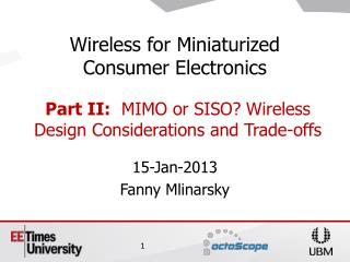 15-Jan-2013 Fanny Mlinarsky