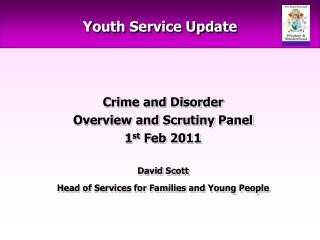 Youth Service Update