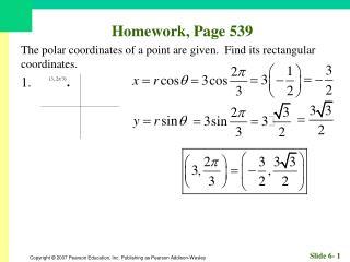 Homework, Page 539