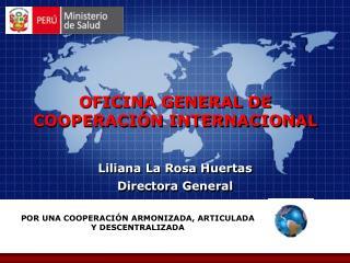 Liliana La Rosa Huertas Directora General