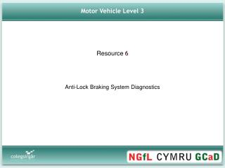 Motor Vehicle Level 3