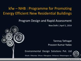 Kfw   NHB : Programme for Promoting Energy Efficient New Residential Buildings