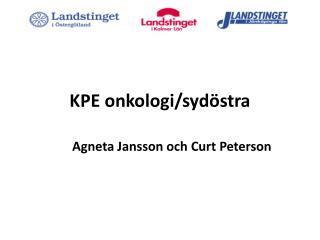 KPE onkologi/sydöstra
